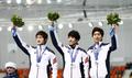 소치 동계올림픽 스피드스케이팅 남자 팀추월 결승