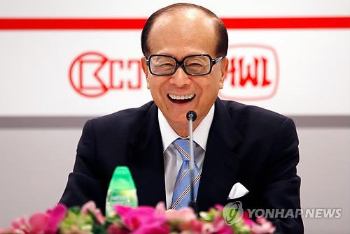 홍콩 갑부 리카싱, 90세 앞두고 은퇴…장남 후계자로 지명(종합)