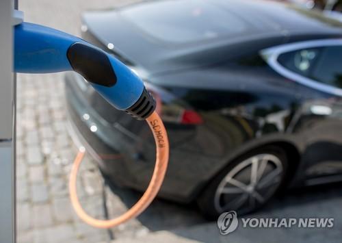 독일의 전기차 충전소 [EPA=연합뉴스 자료사진]