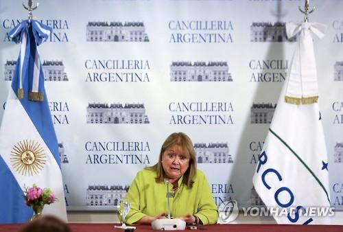수사나 말코라 아르헨티나 외무장관