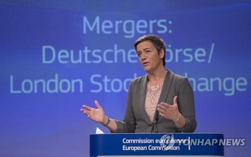 베스타게르 EU 경쟁담당 집행위원 [연합뉴스 자료사진]