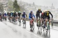 26일(현지 시간) 스위스 애글르와 샹페리 사이의 173.3km 구간에서  제71회 투르드로망디 UCI 프로투어 사이클링 대회가 열렸다.