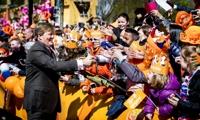 '오렌지 빛 축제 분위기'…국왕 생일 맞은 네덜란드