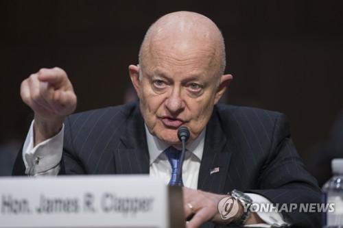 클래퍼 미국 전 DNI 국장, 상원서 '러시아 커넥션' 증언