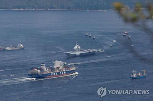 중국 첫 항공모함 랴오닝함