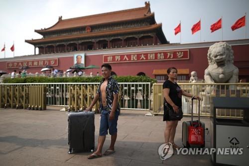 베이징 톈안먼 15일부터 보수공사…내년 4월 재개방