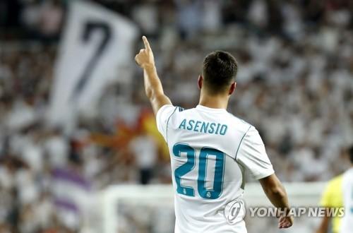 바르사 울린 레알 '신성' 아센시오, 슈퍼컵 2연전 2골