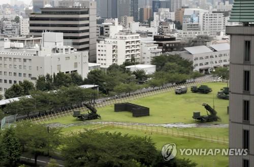 도쿄에 배치된 日 항공자위대 PAC-3
