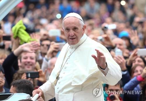 프란치스코 교황[EPA=연합뉴스 자료사진]