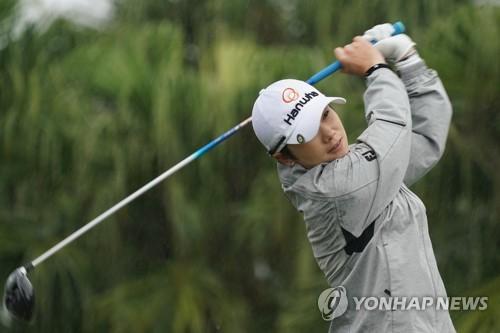 신인왕 박성현, LPGA 대만 대회 1R 4오버파 하위권…지은희 선두(종합)