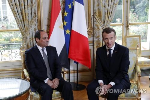 프랑스·이집트 정상 통화…가자지구 긴장완화 필요 공감