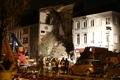 벨기에서 한밤중 아파트 붕괴…가스폭발 추정