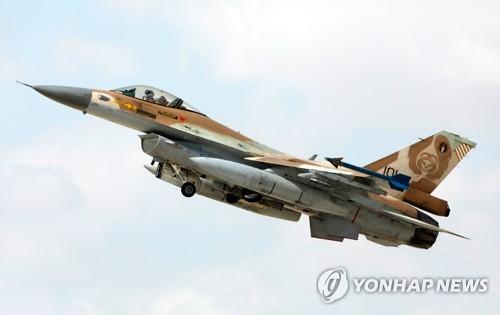 이스라엘군 F-16 전투기