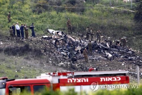 이스라엘 F-16기 시리아 대공 무기에 피격…이스라엘 북부 추락
