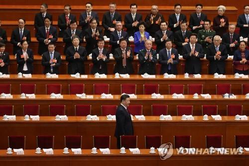 중국 전국인민대표회의에 참석한 시진핑