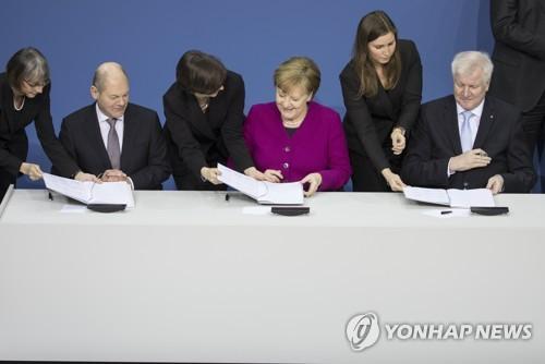 독일 대연정 붕괴 우려 일단 벗어나…사민, 연장여부 결정 미뤄