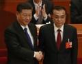 '시황제' 시진핑, 집권2기 지도부 완비…왕치산·리커창·양사오두 등 지명