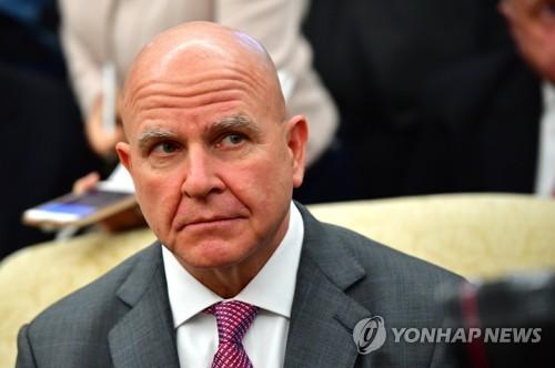 """맥매스터 """"김정은 핵유지 원할 가능성…정상회담 유익한 측면도""""(종합)"""