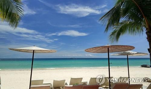 필리핀 보라카이 섬 [EPA=연합뉴스 자료 사진]