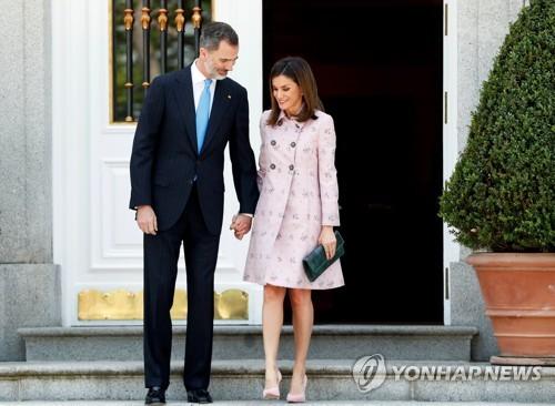 스페인 국왕부부 내주 미국 방문…왕비·영부인 패션대결 '관심'