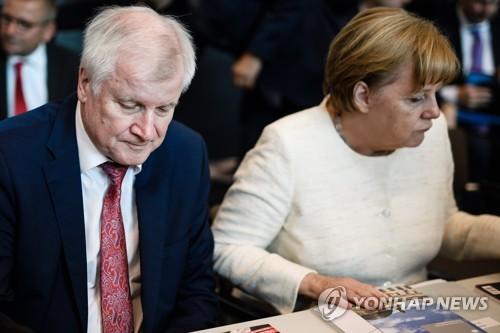 독일 내무, 난민정책 갈등속 메르켈에 연정 붕괴 경고