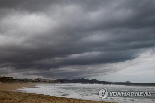 열대성폭풍 '버드' 멕시코 바하칼리포르니아 반도 상륙 임박