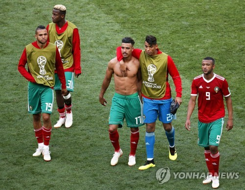 [월드컵] 20년 벼른 모로코, 슈팅 29개·'무득점'으로 2경기 만에 퇴장