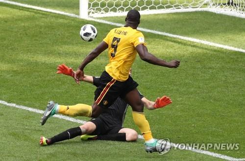[월드컵] 벨기에 루카쿠, 마라도나 이후 32년 만에 2경기 연속 멀티골