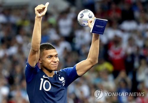 음바페, 월드컵 보너스 4억원 전액 어린이 체육 쾌척