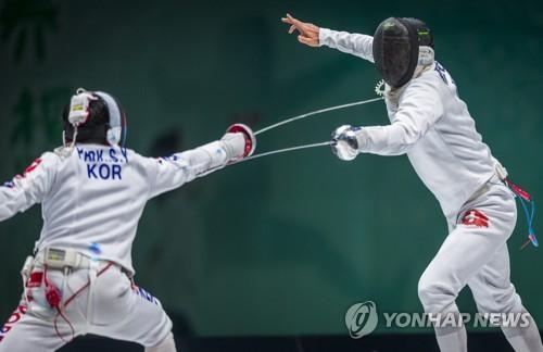 한국 펜싱 남자 에페, 3년 만에 세계선수권대회 단체전 은메달