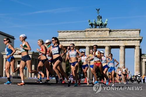 유럽육상선수권대회 마라톤 경기  [EPA=연합뉴스]