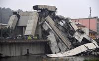 伊 제노바서 고속도로 교량 붕괴…