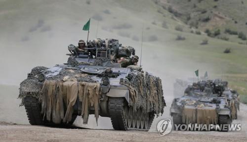 나토·협력국들, '노블 파트너 2018' 군사훈련 실시 [EPA=연합뉴스 자료사진]