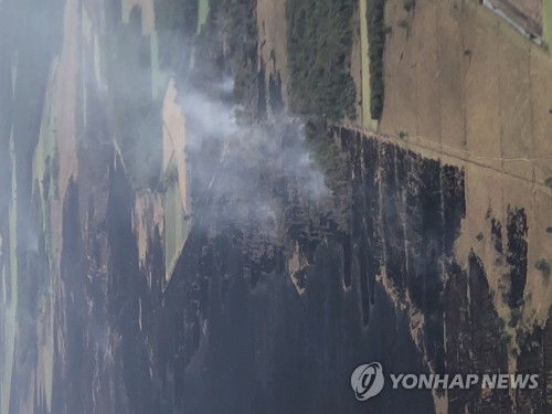 독일군 미사일 점화로 대형화재 유발…국방장관 사과