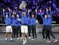 페더러·츠베레프 앞세운 유럽팀, 레이버컵 2연속 우승