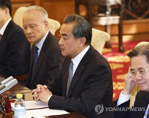 왕이 中 외교 담당 국무위원