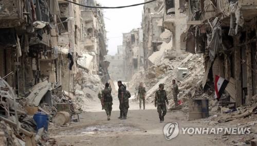"""'주민 16만' 시리아 팔 난민촌 유령도시 방치…""""복귀조처 없어"""""""