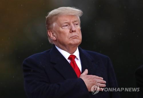 """세계 정상들, 트럼프 일방주의 강력성토…마크롱 """"낡은 망령""""(종합)"""