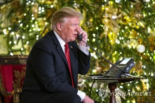 """""""트럼프, 美증시 폭락한 날 월가 대형은행 CEO들과 전화회의"""""""