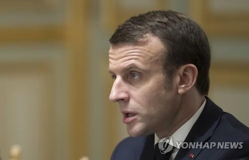 """마크롱 유대인 혐오범죄 비난…""""공화국 부정하는 것"""""""