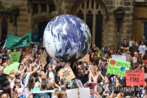 """호주인들 """"기후변화가 최대 위험""""… 로위 연구소 여론조사서"""