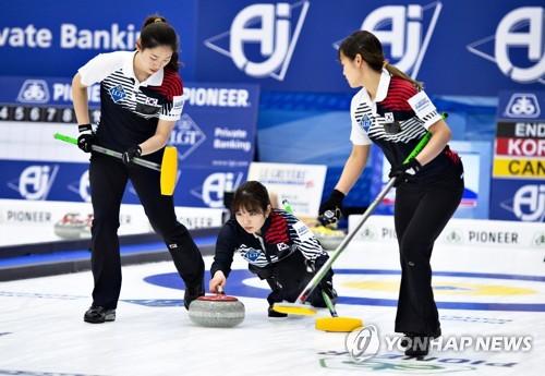 컬링 리틀팀킴, 세계선수권 예선 중국에 패…7승 3패