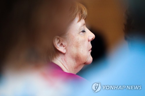 """2021년 퇴장예고 메르켈 """"EU 등에서 정치적 활동 안할것"""" 재확인(종.."""