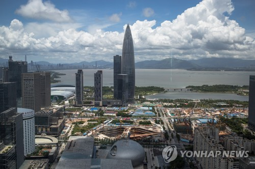 중국, 홍콩 대신 이웃 선전에 전폭 지원…반중시위에 압력 높여