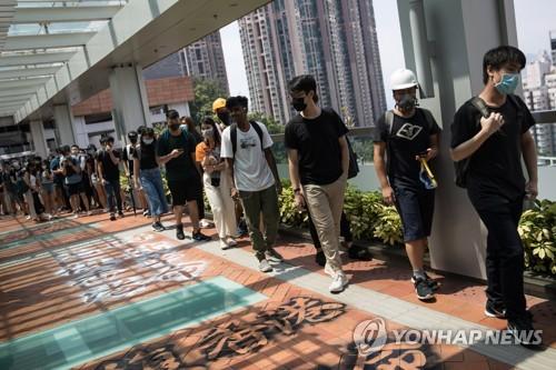 홍콩 시위 탓에 중국서는 게임 캐릭터도 마스크 못 쓴다(종합)