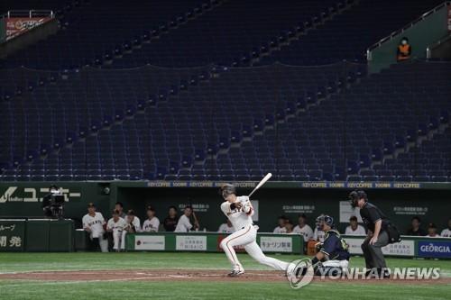 일본 야구 세이부만 팀 훈련…나머지 훈련 중단·자율 훈련