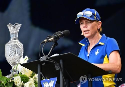 스텐손·소렌스탐, 남녀가 함께 경쟁하는 골프대회 주최