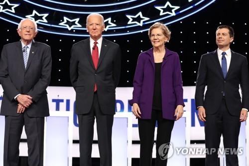 美민주 대선주자, 할리우드 셀럽 지지 얻으려 '고군분투'