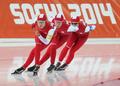 Sochi 2014 Ladies' Speed Skating Team Pursuit event