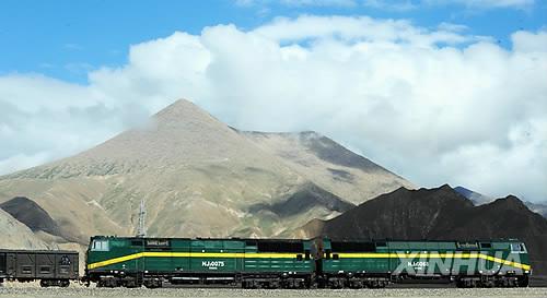 <자료사진> 칭하이-티베트 열차